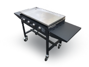 Gas Operated Griddle Folding Catering Griddle Stainless Steel Cooking Surface